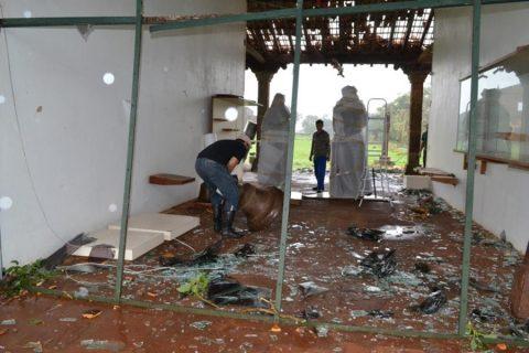 no dia 24 de abril um tornado atingiu são miguel das missões e causou estragos no museu