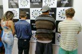 Criminosos foram presos pela Polícia Civil e conduzidos para o sistema prisional de Cerro Largo