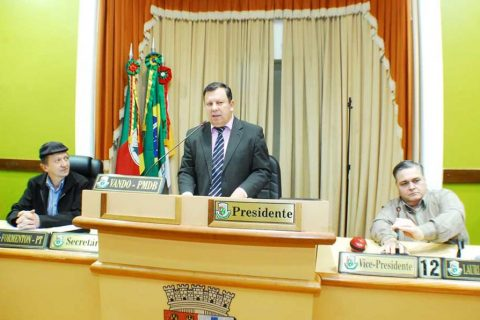 Chapa vencedora liderada por Vando é composta ainda por Lauri Juliani (vice-presidente) e Diomar formenton (secretário)