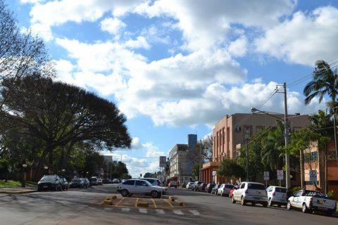 Avenida Venâncio Aires, entre a Rua 3 de Outubro e Avenida Brasil, é um dos novos locais da Zona Azul