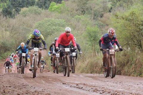 1ª Maratona Capital das Missões de MTB (Mountain Bike) contou com a participação de 124 ciclistas