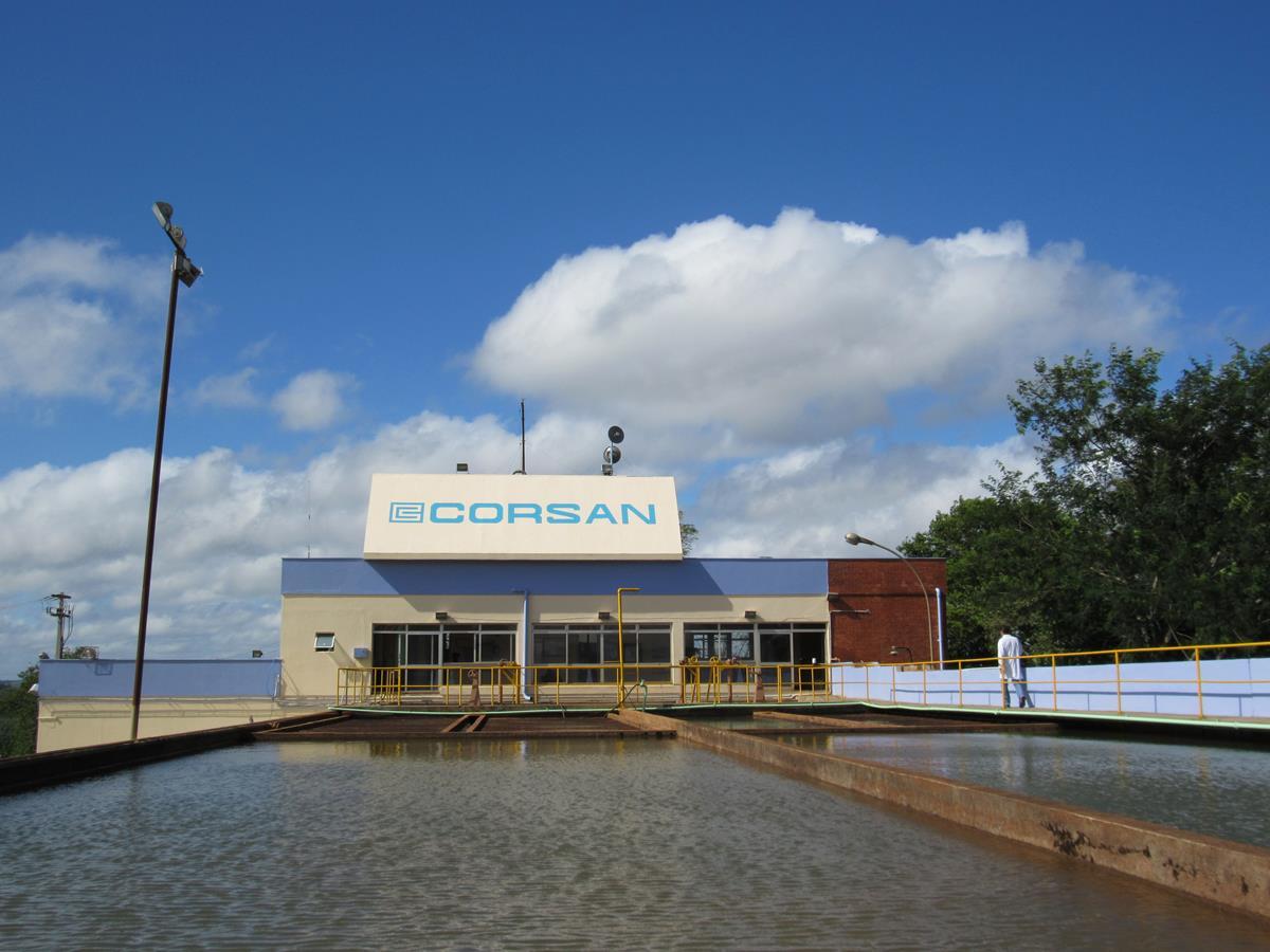 Estação de Tratamento ETA 2 da Corsan, localizada no Bairro São Carlos, distribui água tratada para 75% da população