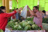 Produtos como hortifrutigrangeiros e regulamentados continuam sendo oferecidos nas terças, quintas e sábados, entre às 7h e 11h45min