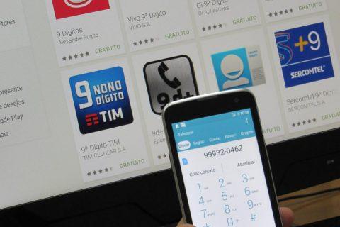 """Para realizar ligações, usuários deverão incluir um """"9"""" a frente do número discado"""