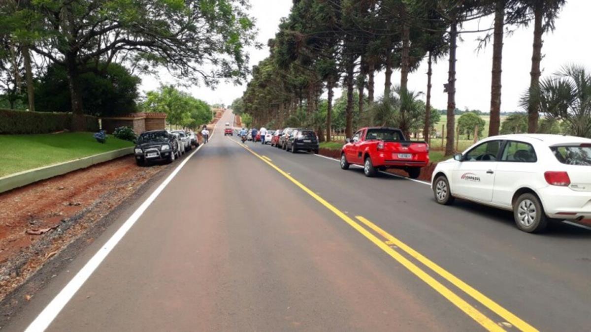 Trecho de 10,6 quilômetros liga cidade ao distrito de Buriti
