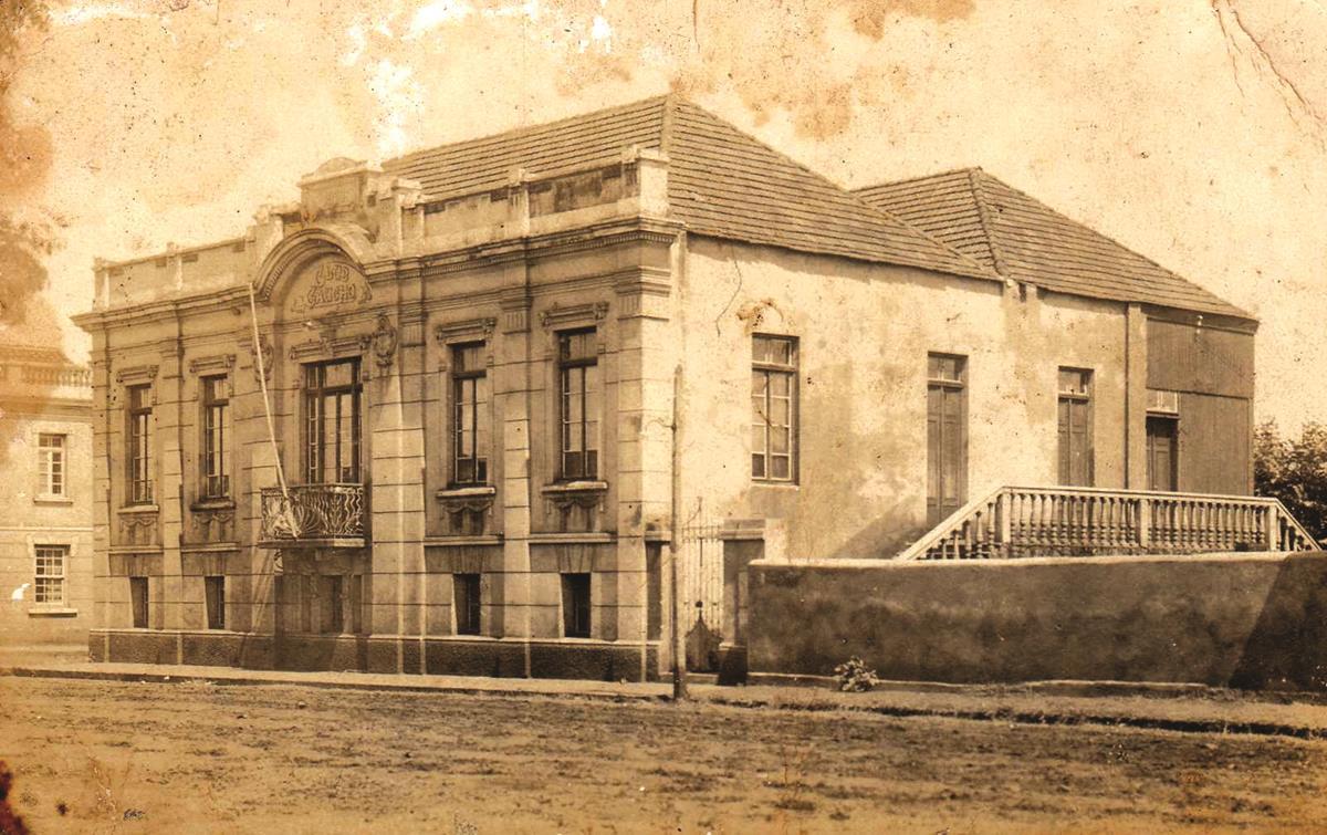 Clube Gaúcho na década de 20