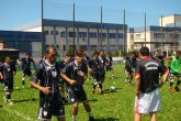 O time iniciou trabalhos intensivos em campo reduzido, com troca de passes, associações de rotinas e treinamento tático em diferentes situações de jogo