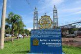 Monumento do Rotary Club no trevo de acesso a Santo Ângelo