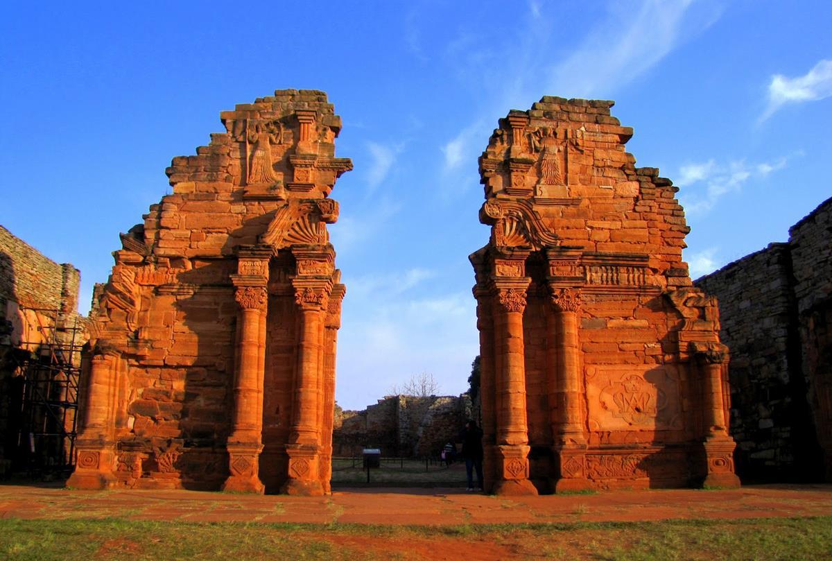 San Ignacio Mini - Ruínas das Missões Jesuíticas Guaranis em Misiones
