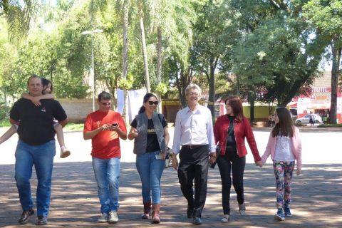 Visitantes argentinos e paraguaios foram recebidos por José Roberto Oliveira e Romaldo Melher