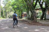 Na tarde de quarta-feira, dia 1º seguranças privados vigiavam a área do Parque. Aumento no efetivo de vigias é uma das alternativas que a Administração Municipal busca para aumentar a segurança no local