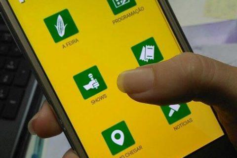 Comunidade pode acessar informações da Fenamilho através de aplicativo móvel. Ferramenta já está disponível para download no Google Play e no Apple Store