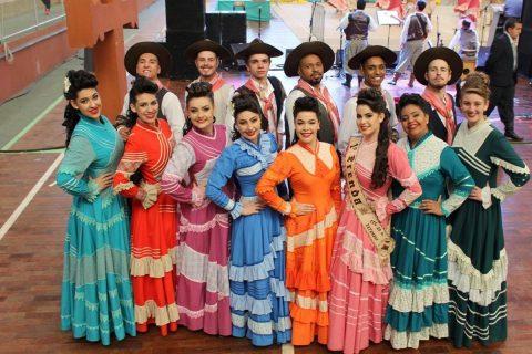 Espetáculos de danças gaúchas serão apresentado para o público durante a feira
