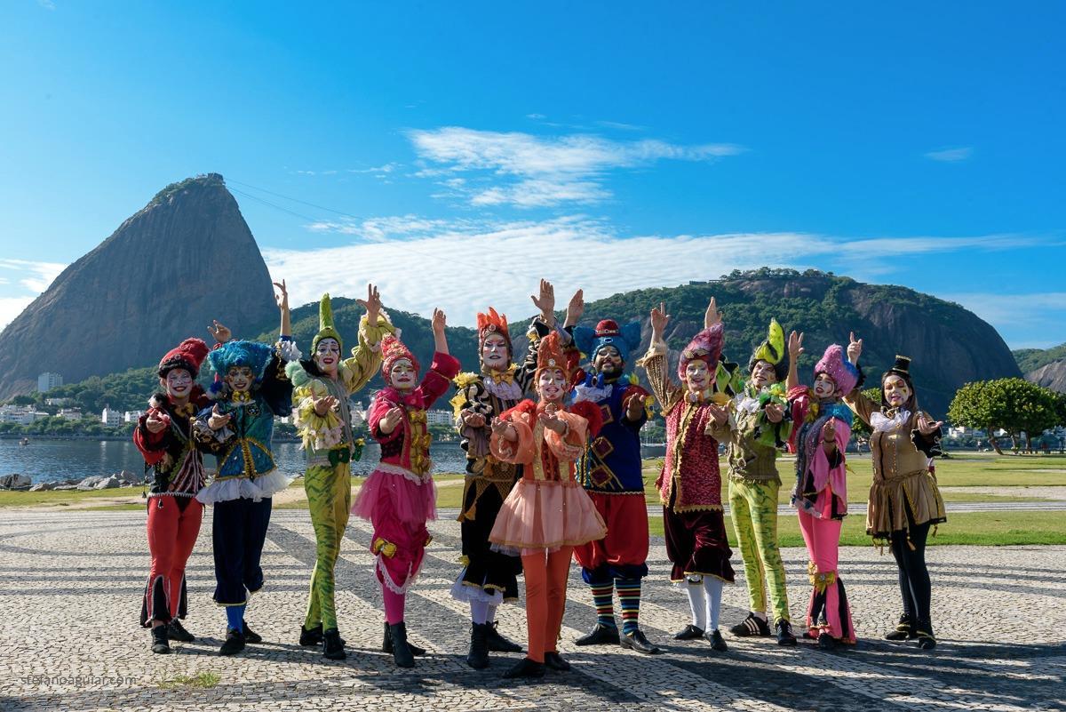 Oficinas terá como instrutor Jairo F. Pereira Junior e equipe da Cia Circense Burzum