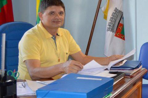 Secretário de Educação do Município, Valdemir Roepke (Nanaco)