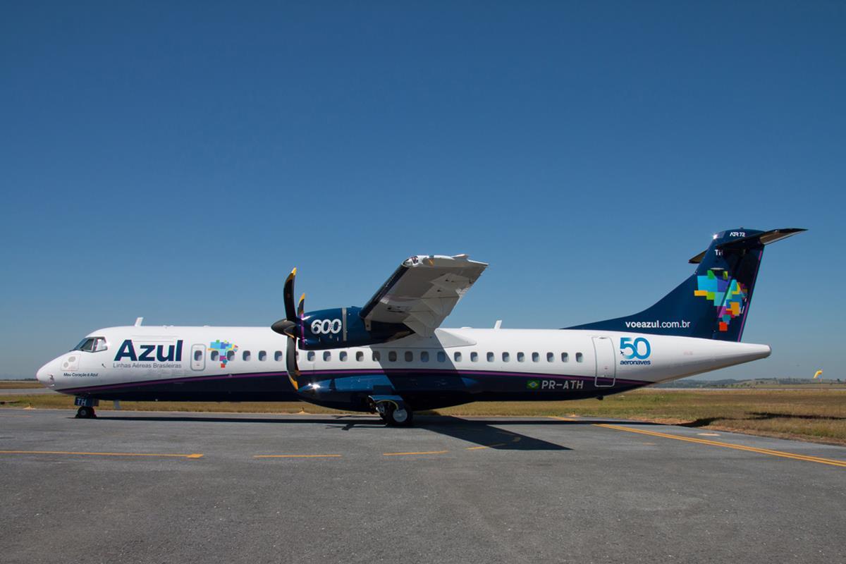 Trajeto entre a capital das Missões e Capital Gaúcha será feito em uma aeronave ATR 72-600, de 70 assentos