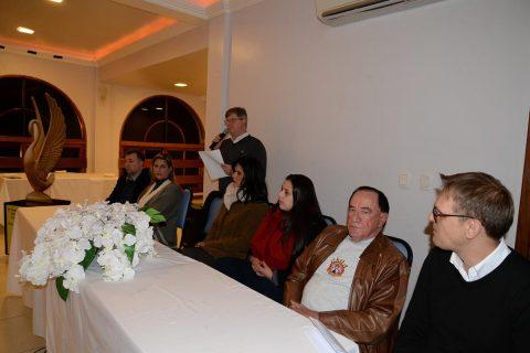 Presidente do Clube Gaúcho, Luís Alberto Voese lançou oficialmente o evento na noite da terça-feira, dia 19