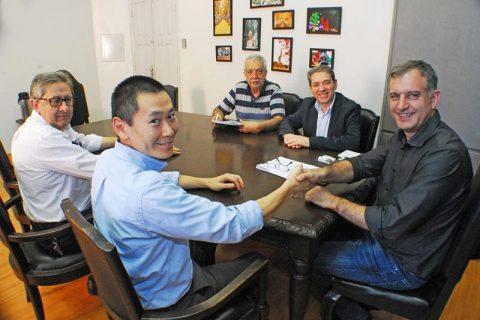 Juscelino Gonçalves, Maximiliano Chang Lee, Jacques Barbosa, Ângelo Meneghetti, João Baptista Santos da Silva