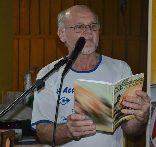 Renato Schorr em edições anteriores do Acampamento da Poesia
