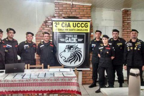 Atalaia Valtencir, Rodrigo, Brittes, Veiga, Letícia, Anadel Genaro, Anadel Fagundes e Comandante MOR Felipe