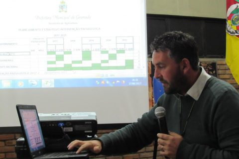 Marcio Daniel Pottratz é Coordenador Técnico do Horto Municipal na Prefeitura de Gramado há quase 15 anos