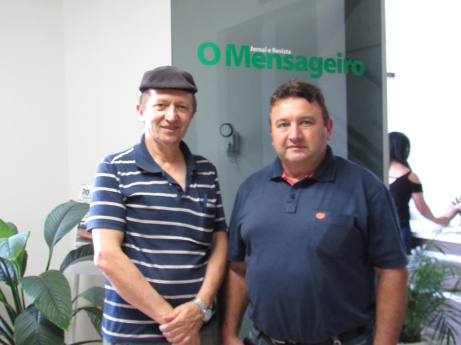 Diomar Fermenton e Daniel Casarin