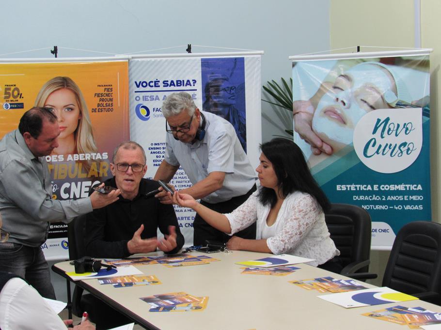 Lançamento do Vestibular da Faculdade CNEC (2)