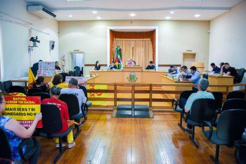 Aprovação aconteceu durante sessão na Câmara de Vereadores