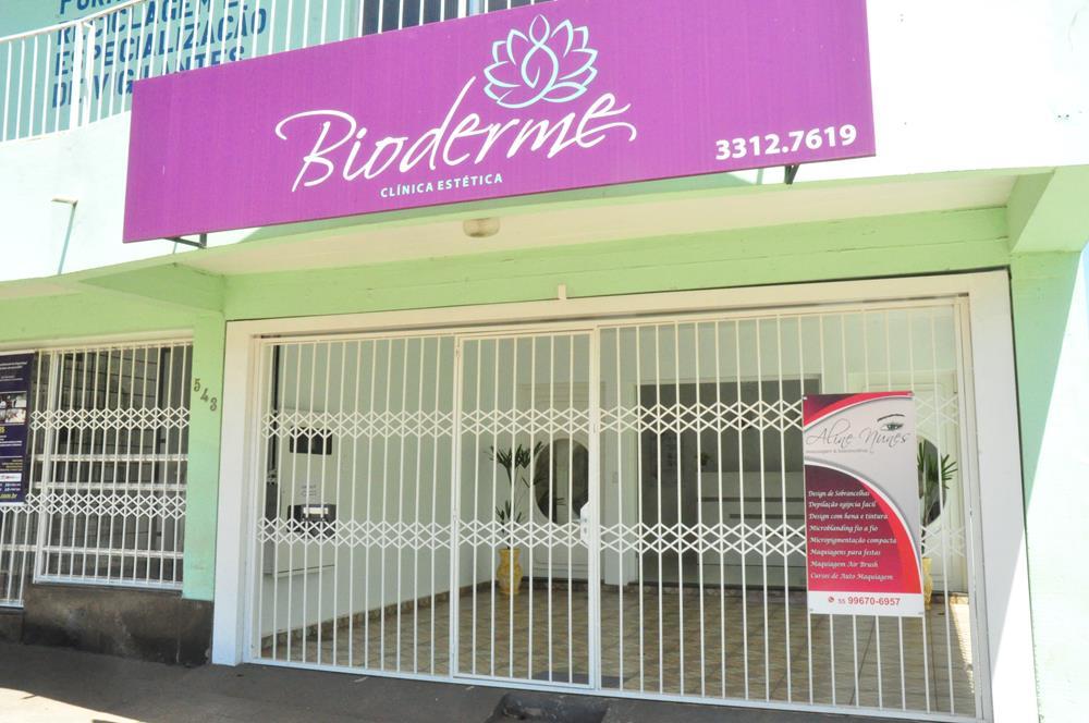 Bioderme está localizada na Rua 22 de Março, 543, na Zona Norte