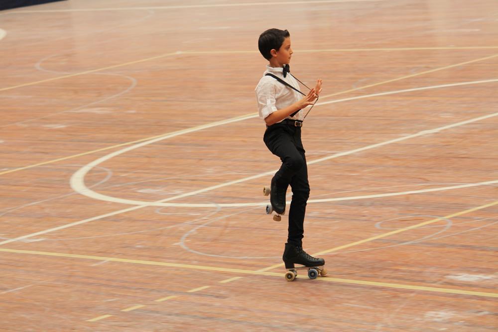 Felipe da Rocha de Almeida - 1º Lugar categoria Estreantes Masculino de 7 a 8 anos