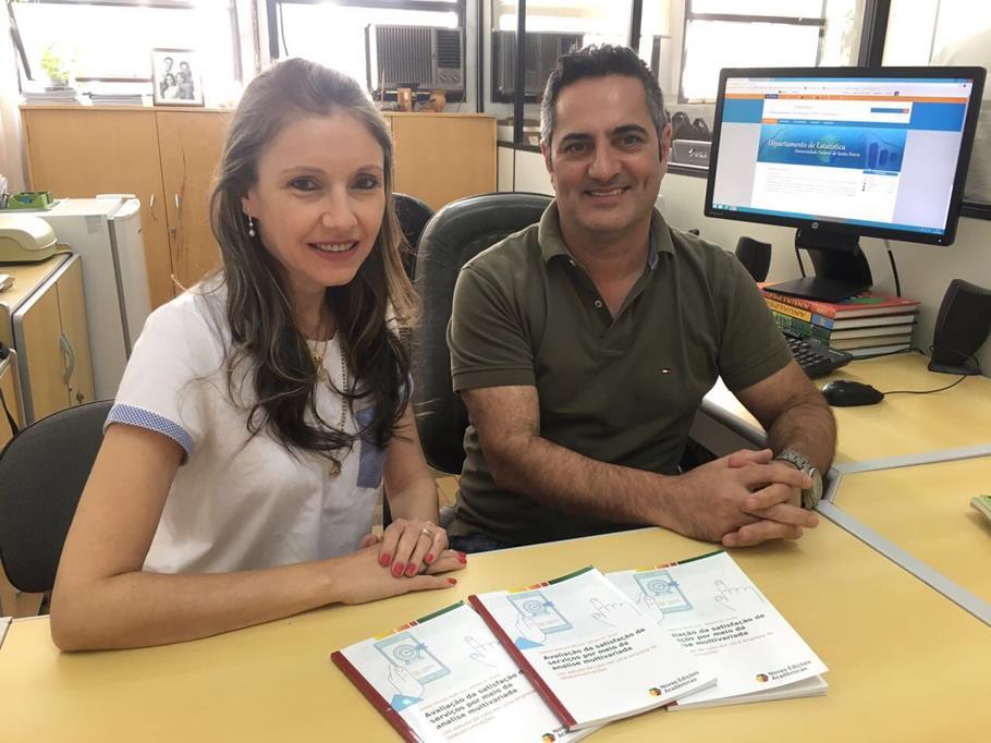 Prof. Gilvete Wolff Lírio (URI) e Prof. Adriano Mendonça Souza
