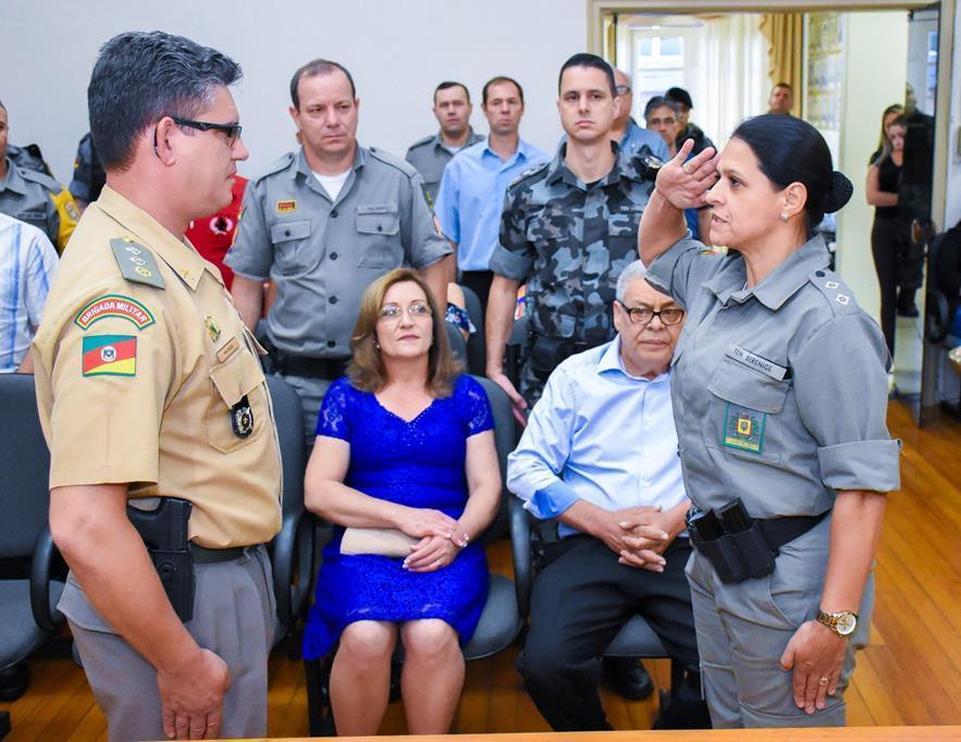 Policiais da reserva e ativa foram homenageados pelo trabalho de destaque na BM
