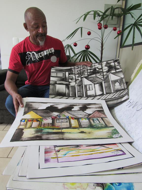 Gerson Santos - Artísta Plástico de Gravataí
