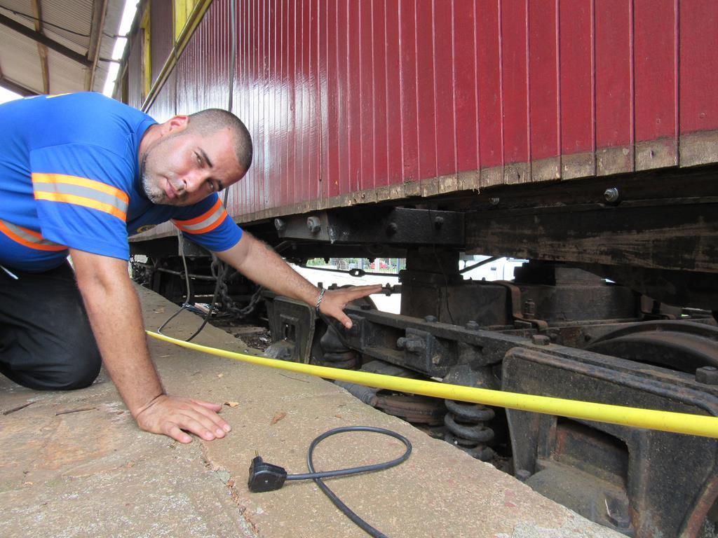 Restauração dos Vagões da Estação Ferroviária (4)