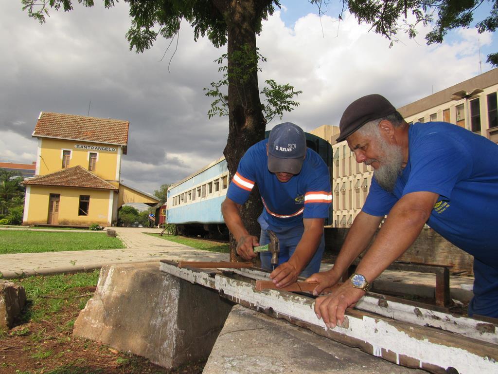 Restauração dos Vagões da Estação Ferroviária (8)