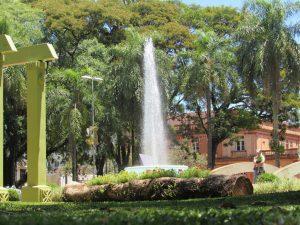 Praça Pinheiro Machado em Santo Ângelo