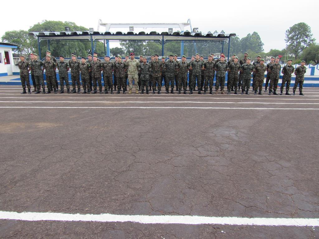 Formatura do Exército