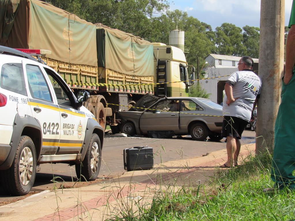 Acidente com vítima fatal na Indubras em Santo Ângelo (1)