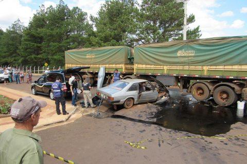 Acidente com vítima fatal na Indubras em Santo Ângelo (13)