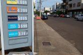 Aumento de combustível