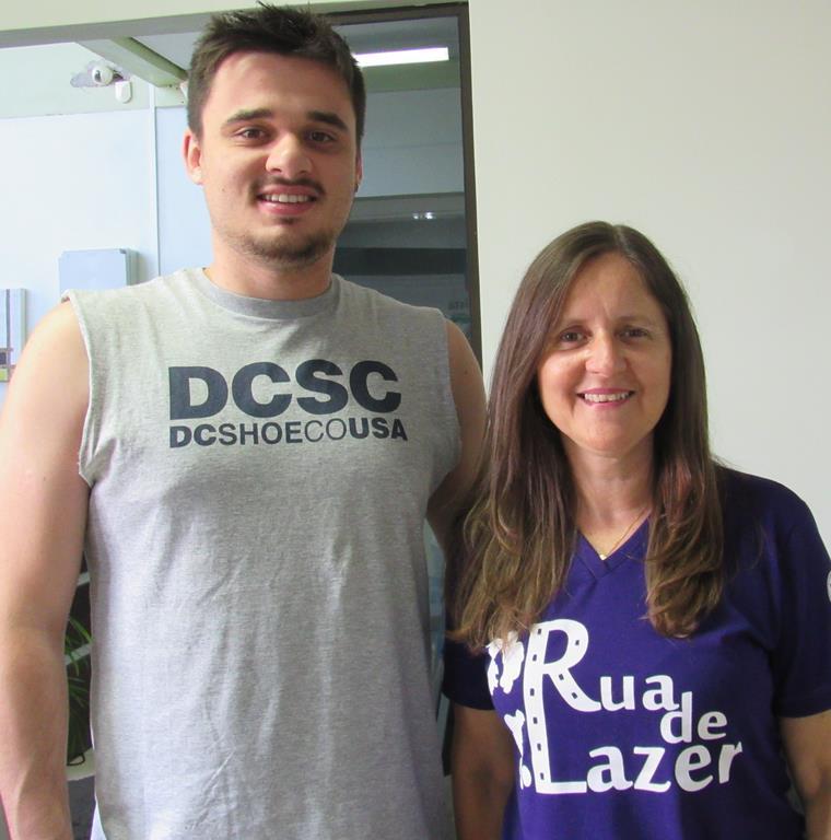 Cinara Enéas Mürmann e Carlos Eduardo