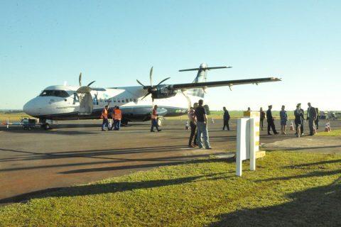 Avião da Azul - primeiro pouso e decolagem no Aeroporto de Santo Ângelo (1) (Copy)