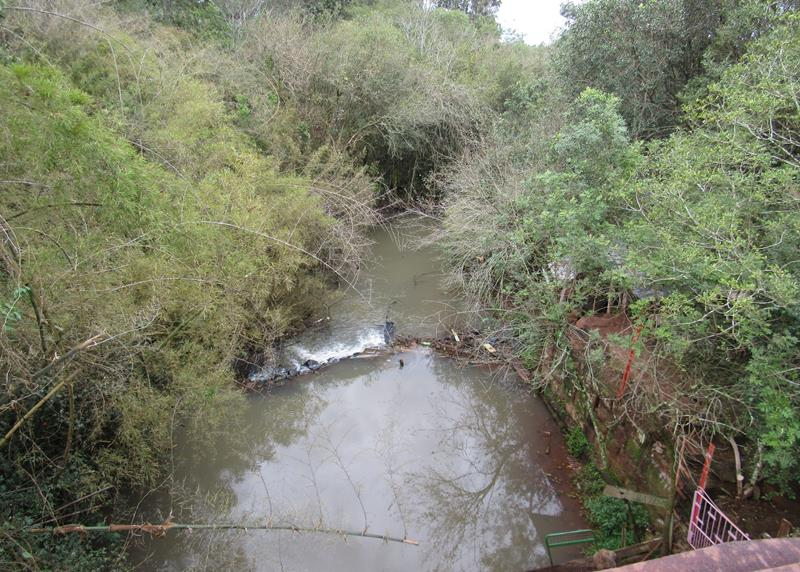 Rio Itaquarinchim - Ponte ferrea - local onde são realizadas cerimônias religiosas de batismo (Copy)