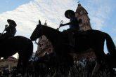 Cavalariano na Praça Pinheiro Machado - Foto - Marcos Demeneghi feita durante a solenidade de  abertura da Semana Farroupilha em 2017