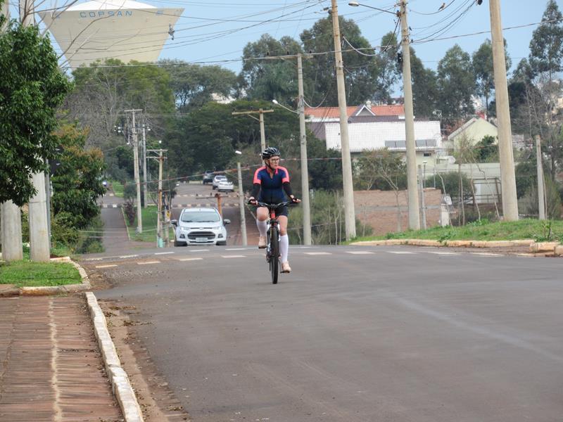 Ciclista na Av. Venâncio Aires (Copy)