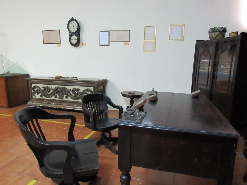 Mobília usada por Marechal Rondon