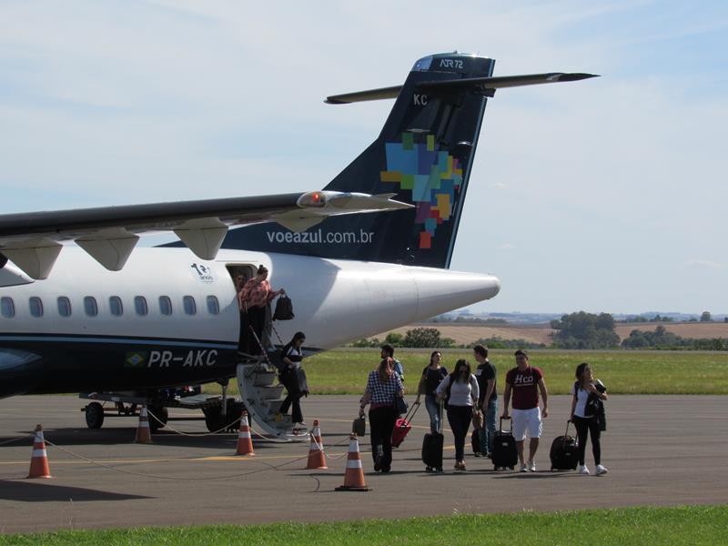 Aeroporto - embarque e desembarque de passageiros (Copy)
