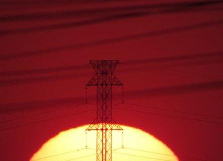 Torres de Alta Tensão da Subestação Santo Ângelo da Eletrobras Eletrosul - Foto Marcos Demeneghi (Copy)
