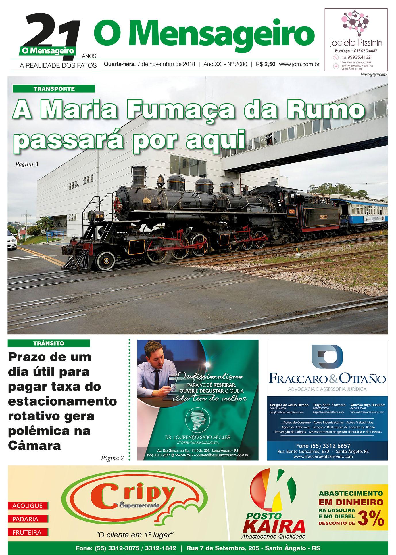 07112018 - O Mensageiro.indd