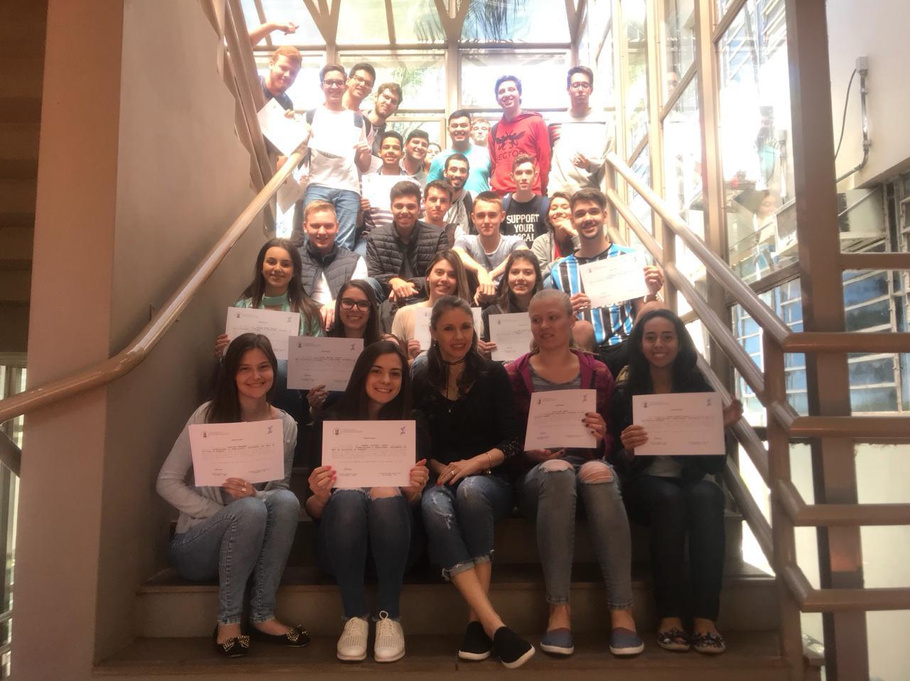 Turma da engenharia civil e Quimica 2º semestre